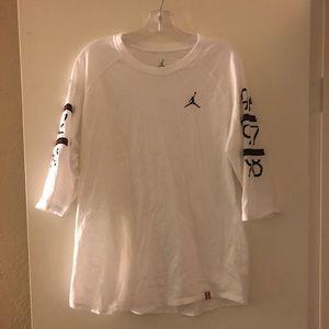 Jordon 3/4 sleeve Shirt